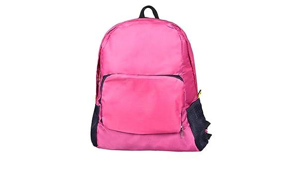 Outsta - Mochila de hombro plegable para mujer al aire libre, mochila de moda, mochila escolar clásica, resistente al agua: Amazon.es: Juguetes y juegos
