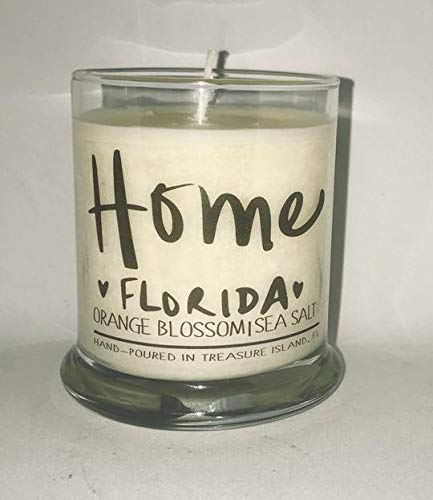 Home Florida Candle Florida Home Candle- Soy Candle- Sunshine State (Landscape State Florida Seminoles)