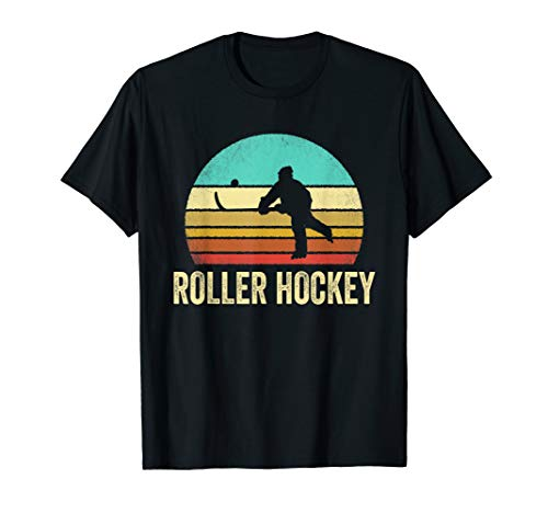 Vintage Roller Hockey Shirt Sunset