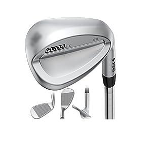 Ping Golf Glide 2.0 Men's Wedge, Right Hand, 60°, AWT 2.0 Steel Shaft, Regular Flex