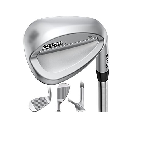 Ping Sand Wedge (Ping Golf Glide 2.0 Men's Wedge, Right Hand, 54°, AWT 2.0 Steel Shaft, Wedge Flex)