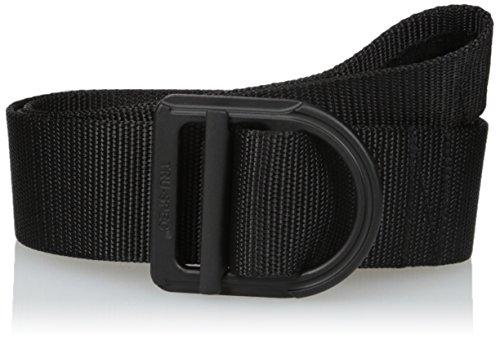Blk Range - Tru-Spec Range Belt, 24-7 blk 1-Ply Color Matched Bkle, Black, X-Large