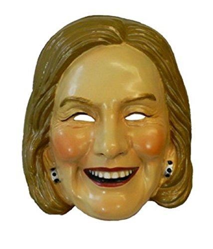 Forum Novelties 78090 Clinton Adult Plastic Mask, Hillary
