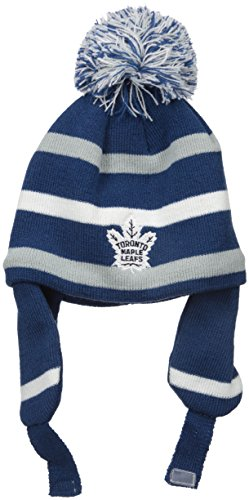 NHL Toronto Maple Leafs Toddler Jubilee Alpine Knit Hat with Pom, One Size, Dark - Best Hat Designers
