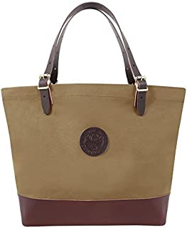 product image for Duluth Pack Deluxe Market Tote (Waxed Khaki)