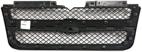 400-151155 GM1200549 19121044 CarPartsDepot Matte Black Grille Matte Black Frame Chrome Trim Molding