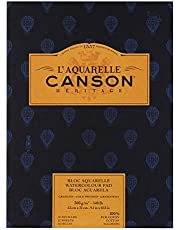 Canson Heritage Watercolor Pad, Rough Sheets