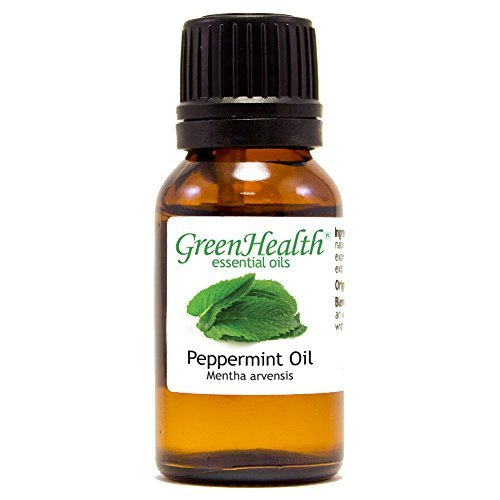 Price comparison product image 15 ml Japanese Peppermint Essential Oil (100% Pure & Uncut) - GreenHealth