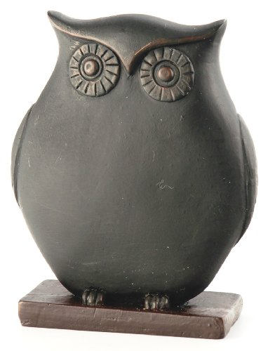 October-Hill-Decorative-Black-Chalkboard-Owl-Place-Card-HolderMenu-Buffet-Label-Mini