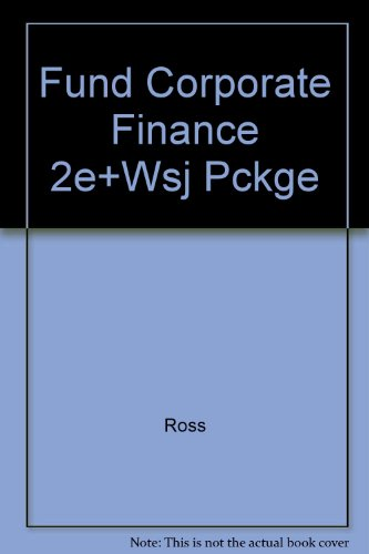 Fund Corporate Finance 2e+Wsj Pckge