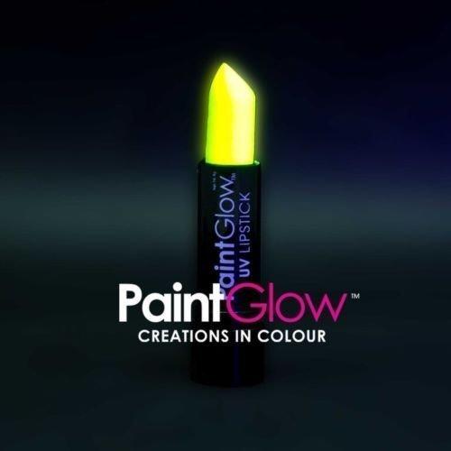 PaintGlow UV Neon Hair Gel, Hair Streaks & Lipstick Rave Party Paint Glow In ... Pams