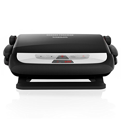 George foreman grp4842mb multi plate evolve grill ceramic - George foreman replacement grill plates ...