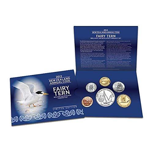 NZ 2012 Annual Uncirculated Coin Set - Fairy Tern - Set Coin Fairy