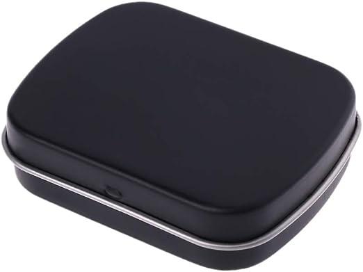 Youlin - Caja metálica pequeña con tapa, cajas de almacenamiento ...