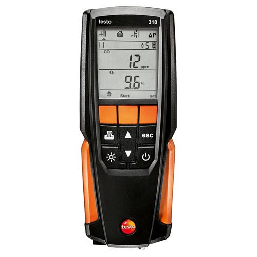 Testo 0563 3100, 310 Residential Analyzer ()