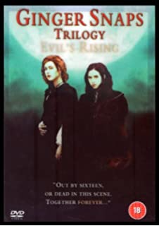 The Complete Ginger Snaps Trilogy 1 - 3 DVD Movie Collection