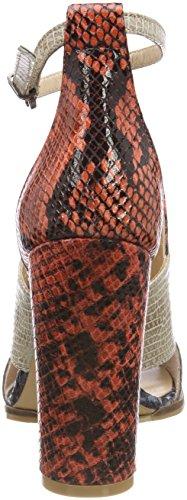 Fersengold Femme Bride Cheville 194 mehrfarbig Multicolore Sandales BwBrU