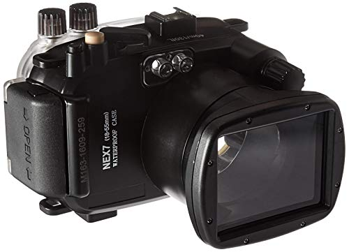Polaroid SLR Dive Rated Waterproof Underwater Housing Case For The Sony NEX 7 Camera with a 18-55mm Lens