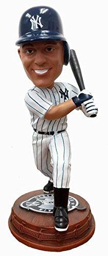 Forever Collectibles Derek Jeter New York Yankees Derek Jeter Day Logo Base Bobblehead MLB