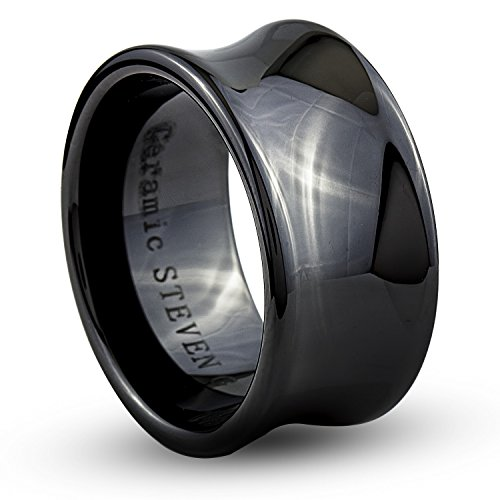 Wide Concave Ring - 7