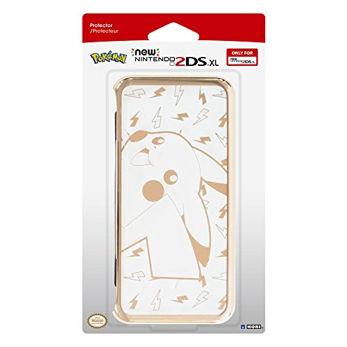 HORI New Nintendo 2DS XL Pikachu Premium Protector - Officially Licensed by Nintendo