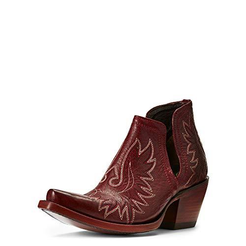 ARIAT Dixon Western Boot Sangria Size 5.5 M US