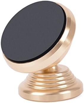 YIKETING 車の携帯電話ホルダーペースト磁気吸引カップ型車磁気車磁石磁気車サポートナビゲーション電話マウント (色 : Silver paste)