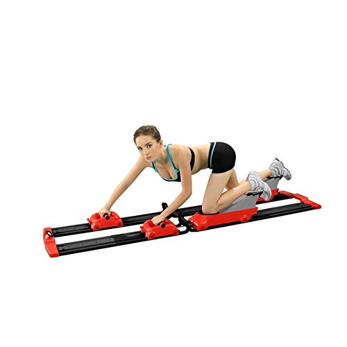 0 - 5 lbs Back2Crawl Home Series Bear Crawl Horizontal Exercise Machine (Red) by Unknown