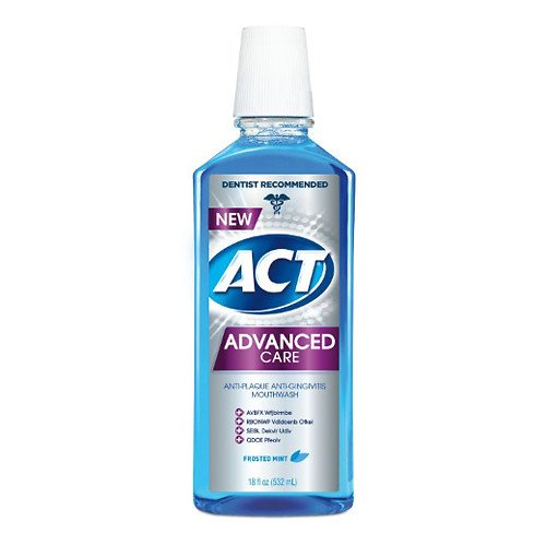 Advanced Plaque Guard Mouthwash Frosted