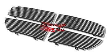 APS Compatible with 2005-2007 Dodge Magnum Except SRT8 Black Billet Grille Grill Insert