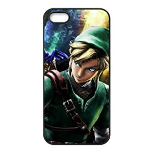 iPhone 4 4s Cell Phone Case Black Super Smash Bros Link U6G5QS