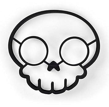 Ahimitsu Ustensiles De Cuisine Halloween Tete De Mort A Oeufs Poele