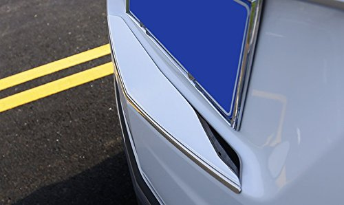Eppar New Chrome ABS Rear Trunk Decorative Trim for Cadillac XT5 2016-2019 (No Logo)