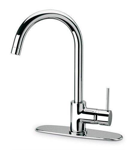 La Toscana 78CR591 Elba Pull-Out Spray Kitchen Faucet, Chrome