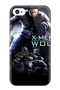 Hot Tpye X Men Origins Wolverine Game Case Cover For Iphone 4/4s
