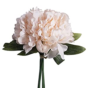 Cathery Artificial Fake Peony Silk Flower Bridal Hydrangea Home Wedding Garden Decor 5