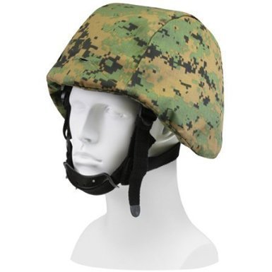 Camo Helmet Cover - Rothco Helmet Cover, Woodland Digital Camo