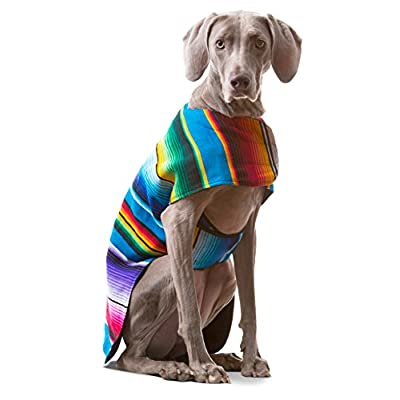 Handmade-Dog-Poncho-from-Mexican-Serape-Blanket-Dog-Clothes-Coat-Costume-Sweater-Vest