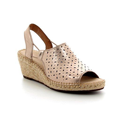 D Clarks Gail Gold Womens CLARKS Sandal 0 Petrina 4 8dg18wq