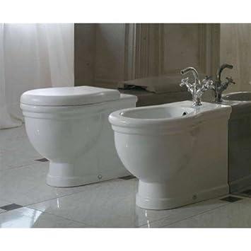 Sanitari Paestum Ceramica Globo.Sanitari Classici Filoparete Ceramica Globo Paestum Wc