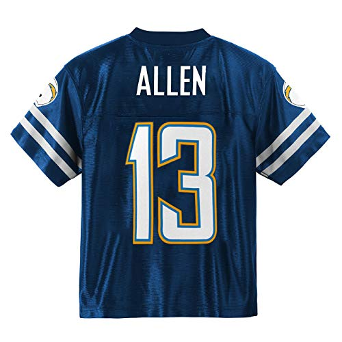 Outerstuff Keenan Allen Los Angeles Chargers #13 Navy Blue Youth Home Player Jersey (Large 14/16)