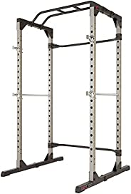 Fitness Reality 810XLT Super Max Power Cage with Optional Lat Pull-down Attachment and Adjustable Leg Hold-dow