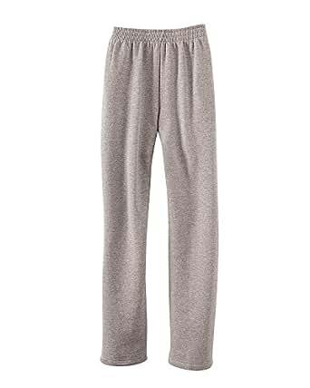 National Fleece Elastic Waist Pants, Heather Gray, 1X