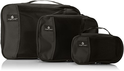 - Eagle Creek Pack It Cube Set, Black, 3 Pack