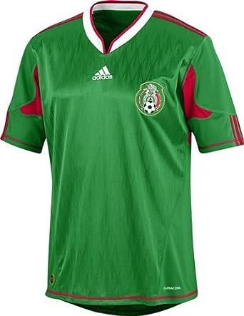 adidas – Camiseta de fútbol de la selección Mexicana 10/11 (Partite ...