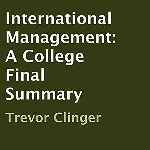 International Management Audiobook