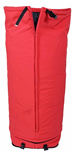 "Half in the Bag Leg Warmer, Red, 40"" (Medium), Use for Ou..."
