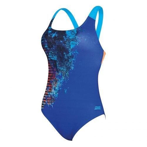 Zoggs Damen Badeanzug -Empire Speedback- Schwimmanzug, Schwimmen, Baden