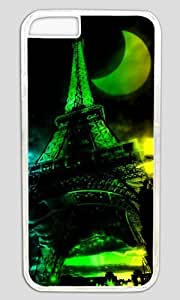 3D Abstract Eiffel Special Moon Thanksgiving Easter PC Transparent Case for Masterpiece Limited Design iphone 6 pluse by Cases & Mousepads