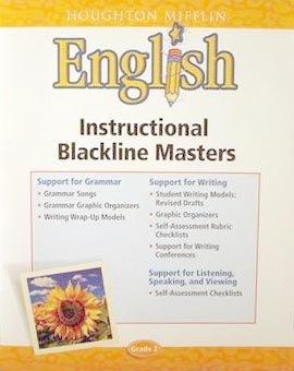 English Instructional Blackline Masters (Grade 2)